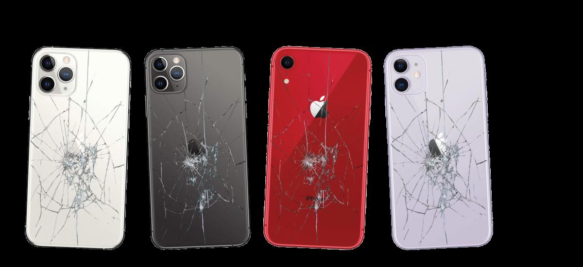 iphone galinio dangtelio keitimas remontas stiklo